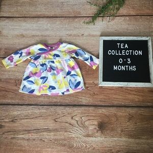 Tea Collection 0-3 Months Top